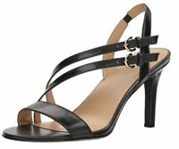 Naturalizer Women's Kayla Heeled Sandal, Black, 11 M US