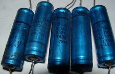 5 x ITT 0.068UF 1000VDC /350Vac vintage capacitors 68nF 68000pf