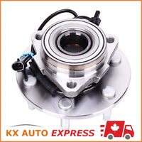 FRONT WHEEL HUB BEARING ASSEMBLY FOR CHEVROLET SILVERADO 1500 4X4 2001 2002 2003
