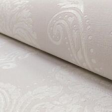Arthouse Lucetta Damask Dove Grey Glitter Heavyweight Vinyl Wallpaper 290201