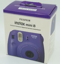 Fujifilm Instax Mini 8 Instant Film Camera (Grape) BRAND NEW