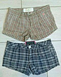 Lot of Fox & Abercrombie & Fitch Shorts Junior Size 3 & 0