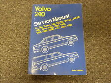 1983 1984 1985 Volvo 240 DL GL SE Turbo Sedan Wagon Shop Service Repair Manual