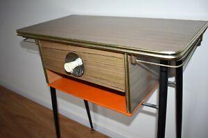 side table Aristoc?atomic Featherston era retro vintage 1960s 60s Footscray