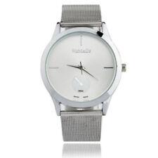 1pcs Vogue Women Unisex Casual Watch Stainless Steel Analog Quartz Wrist Watches
