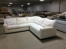 Pottery Barn Comfort Round Right Left Arm sectional Sofa Loveseat Chair Down