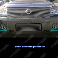 Fits 2008-2011 Nissan Titan/04-07 Armada Fog Light Cover Billet Grille Grill