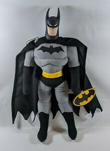 "Batman Plush 18"" Action Figure Toy Doll DC Comics Justice League Dark Knight NEW"