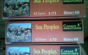 1/72 Biblical Sea Peoples Egyptian Enemies by Caesar Miniatures Bundle