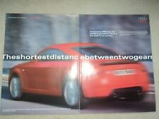 Audi RS TT 3.2 Quattro Advertisement  -  2003