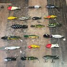 Lot Of 19 Vintage Bomber Fishing Lures (a1)