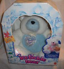 #9485 RARE NIB Vintage Mattel Ice Tickle Bear with Blue Tummy