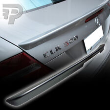 PAINTED Mercedes BENZ W209 2D A STYLE BOOT SPOILER TRUNK 775 SILVER ▼