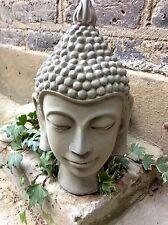 GRANDE splendidamente dettagliate Buddha Statua Testa, per la casa o in giardino.