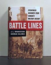 Battle Lines, Eyewitness Accounts from Canada's Military History