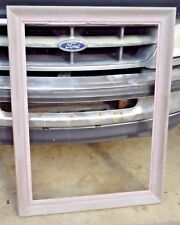 """Antique Purple Painted Country Rustic Chic Picture Frame - 41"""" x 31 1/4"""""""
