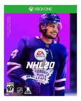 NHL 20 -- Standard Edition (Microsoft Xbox One, 2019) NEW & SEALED