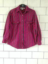 URBAN VINTAGE RETRO AZTEC URBAN TRIBAL OVERSIZED FESTIVAL SHIRT IBIZA UK SMALL