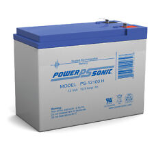 Power-Sonic 12V 10.5AH SLA Battery for Neuton CE6 Cordless Electric Mower
