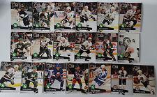 1991-92 Pro Set Series 1 Minnesota North Stars Team Set of 19 Hockey Cards