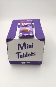 BBE 15/02/2021 Milka Alpine Milk Chocolate Bars 32 x 45 g