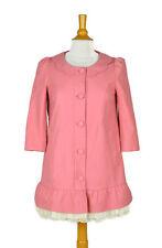 FIVE PLUS Pink Lolita Jacket Size M Women's 3/4 Sleeve Korean Japanese EX COND!