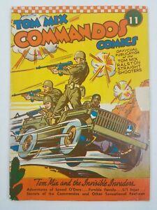 Tom Mix Commandos Comics Book 11 1942