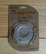 Cuppow Wide Mouth Travel Mason Jar Top