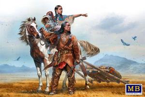 """Master Boîte 35189 """" Sur le Grand Plaines """" Indien Wars Séries Echelle 1/35"""
