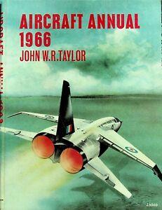 AIRCRAFT ANNUAL 1966 - JR Taylor: TSR-2 Scrapping/ Neutrals at War/ DOWNLOAD