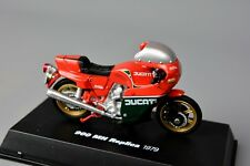 R&L Diecast: Cased New Ray Ducati 900 MH 1979 Red/Green Bike Motorcycle