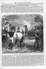1870 franco prusiano Guerra-tiro herido caballos después de batalla militar (155)