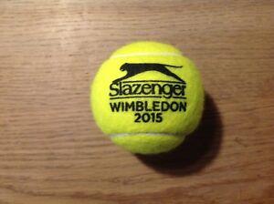 Slazenger 2015 Wimbledon Tennis Ball.