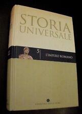 STORIA UNIVERSALE n. 5 - L'IMPERO ROMANO / Corriere della Sera 2004