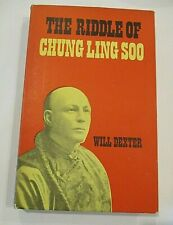 New listing The Riddle of Chung Ling Soo, by Will Dexter - Supreme Magic 1973