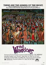 The Warriors Vintage Classic Movie CANVAS Art Print - A0 A1 A2 A3 A4