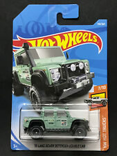 2018 Hot wheels '15 Land Rover Defender Double Cab Case G #158 /365
