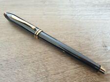 CROSS Townsend Titanium 586-M Fountain Pen w/ 23k Gold Plated Trim - Made in USA