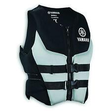 Life jacket Yamaha neoprene safety vest  PFD USCG approved Grey M medium size