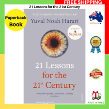 21 Lessons For The 21st Century By Yuval Noah Harari Paperback Book FREE SHIP AU