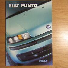 FIAT PUNTO 1.2 8 V 16 V 1.8 1.9D 1.9JTD ELX HLX SPORTING HGT ABARTH OPUSCOLO 2001