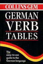 Good, German Verb Tables (Collins Gem) (Collins Gems), , Book