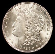 1921  Morgan Silver Dollar .. mint state choice