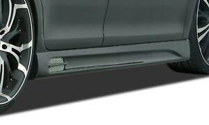 RDX Seitenschweller Set GT-Race ABS schwarz matt für Toyota Auris E150  ...