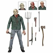 Neca Reel Toys Friday the 13th parte 3 3D Jason Vorhees figura (totalmente Nuevo)