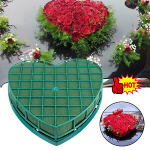 Heart Shape Flower Foam Floral Fresh Party Wedding Gifts Table Car