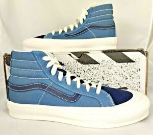 Men's Size 9 VANS OG Style 138 LX Blue Mirage Sneakers (New in Box)