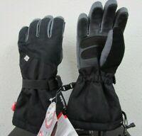 NWT Womens S-L-XL Columbia Inferno Range Outdry Ski Snow Winter Gloves - Black