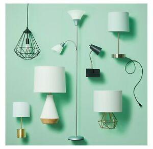 Bright Torchiere Floor Lamp Task Light Flexible Gooseneck Room WITH 2 LED BULBS