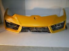 Lamborghini Huracan OEM Genuine Front Bumper Plastic Diffuser Yellow